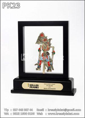 Plakat Kayu Wayang Model Frame