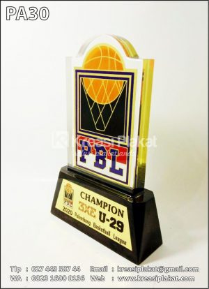 Plakat Basket PBL Champion
