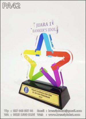 Plakat Pekan Olahraga Dan Seni Bank Indonesia