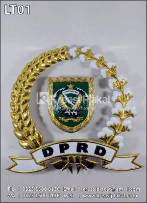 Logo Logam Timbul DPRD