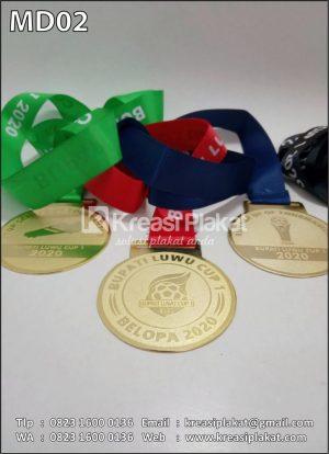 Contoh Medali Sepakbol...