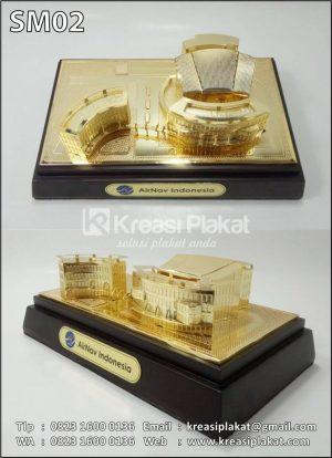 Miniatur Gedung Airnav...
