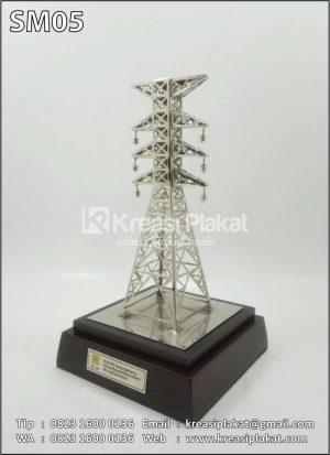 Miniatur Tower Sutet PLN