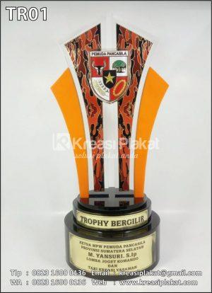 Custom Trophy Bergilir Pemuda Pancasila