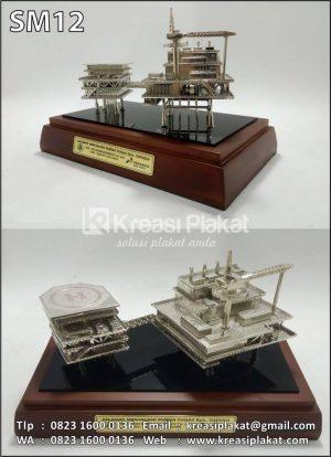 Miniatur Rig Offshore Pertamina