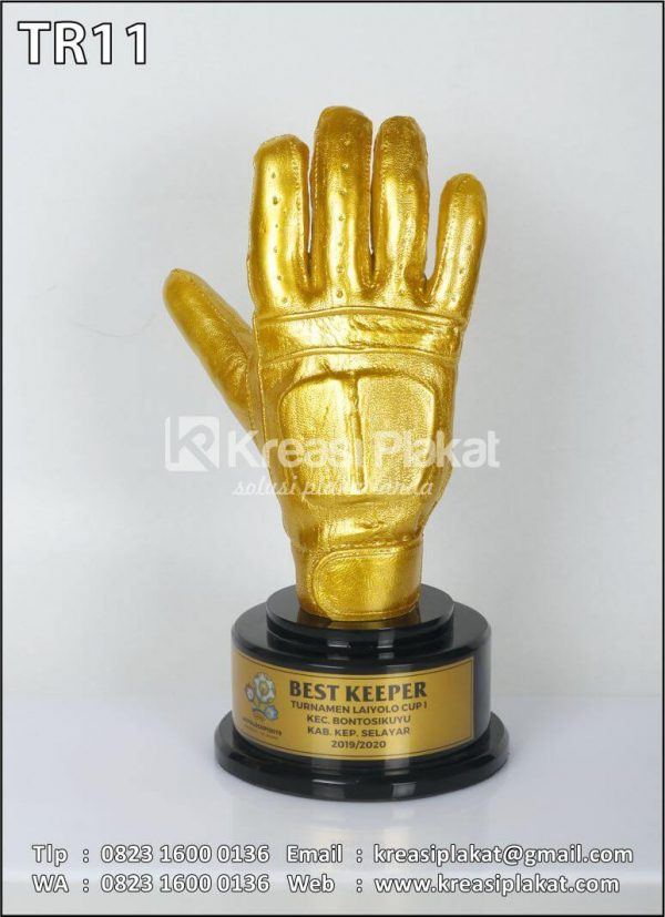 Trophy Best Keeper