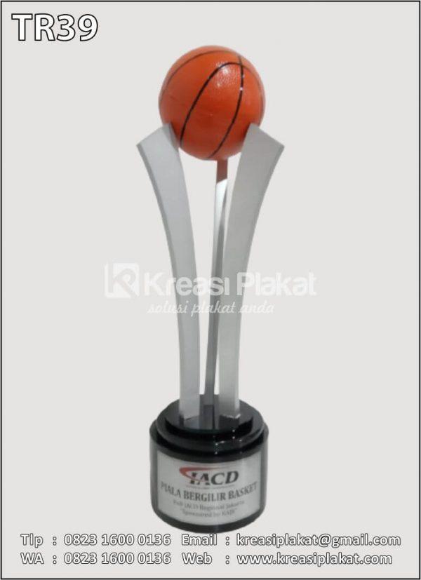 Contoh Piala Bergilir Basket