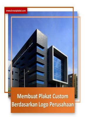 Read more about the article Membuat Custom Plakat Berdasarkan Logo Perusahaan