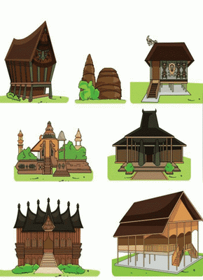 Miniatur Rumah Adat untuk Melestarikan Budaya