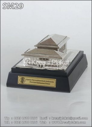 Miniatur Kantor Bank Indonesia Kalimantan Timur