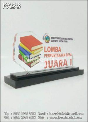 Plakat Akrilik Lomba P...