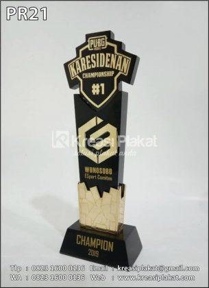Plakat Resin PUBG Karesidenan Champions