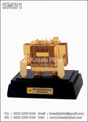Miniatur Trafo Listrik PLN