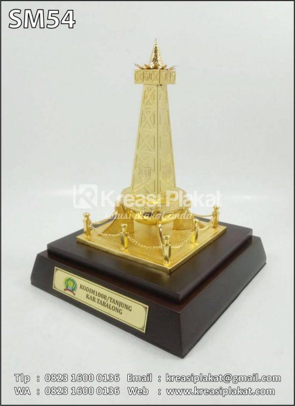 Souvenir Miniatur Tugu Api Tabalong Kalimantan Selatan