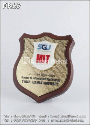 Plakat Emblem SGU