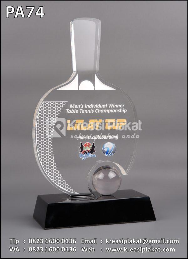 Plakat Penghargaan Tenis Meja