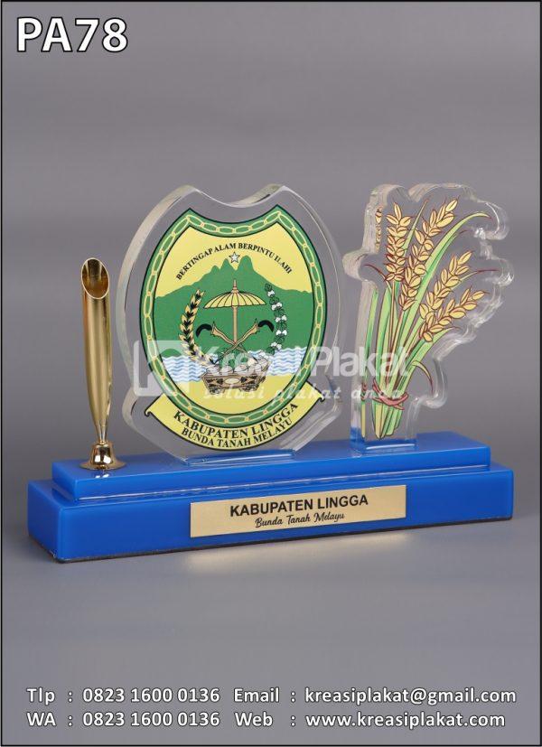 Plakat Pen Holder Kabupaten Lingga