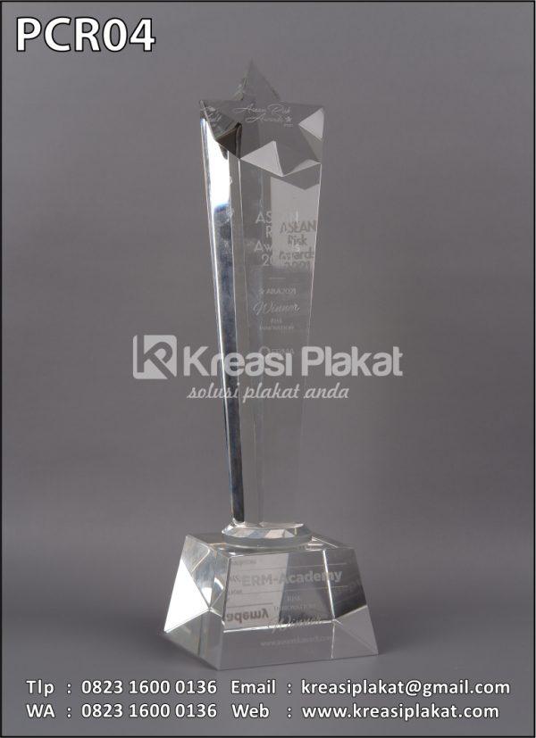 Plakat Kristal Asean Risk Awards